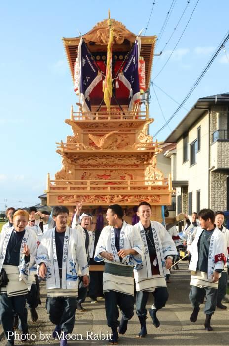 御所神社祭 八丁だんじり(屋台)
