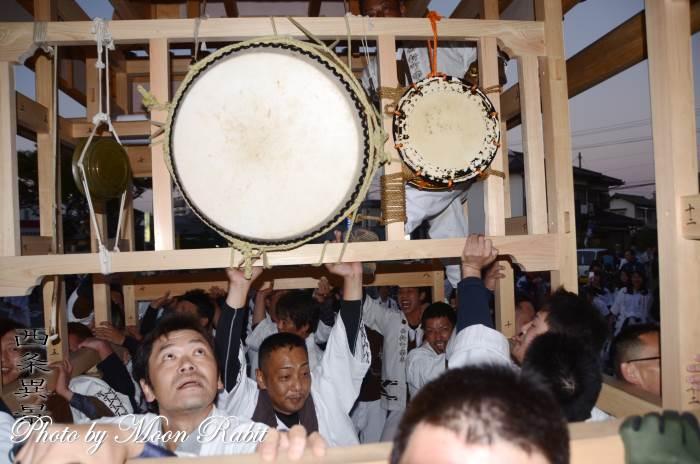 祭り太鼓 西新町だんじり(屋台)