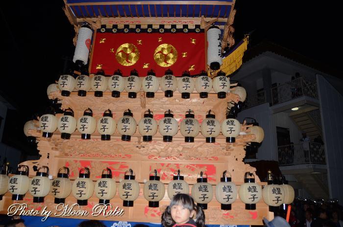 蛭子屋台(だんじり) 祭り提灯