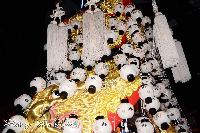 竹内みこし 祭り提灯