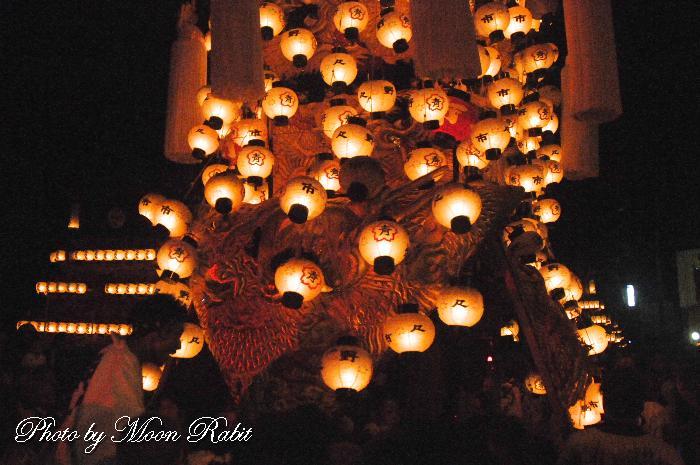 野々市御輿 祭り提灯