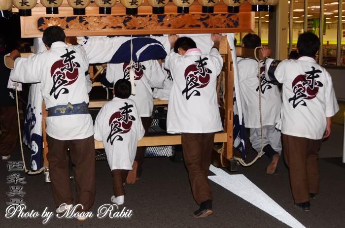 末長だんじり(屋台) 祭り装束 石岡神社祭礼