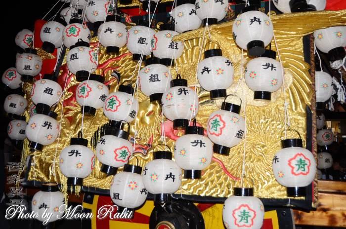 竹内御輿 祭り提灯