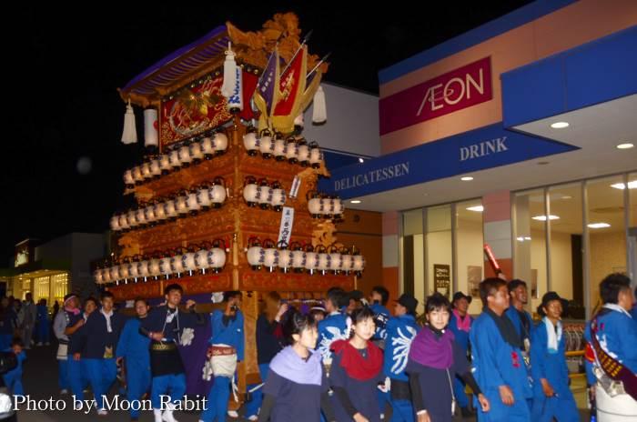 マルナカ氷見店 西泉屋台(だんじり)