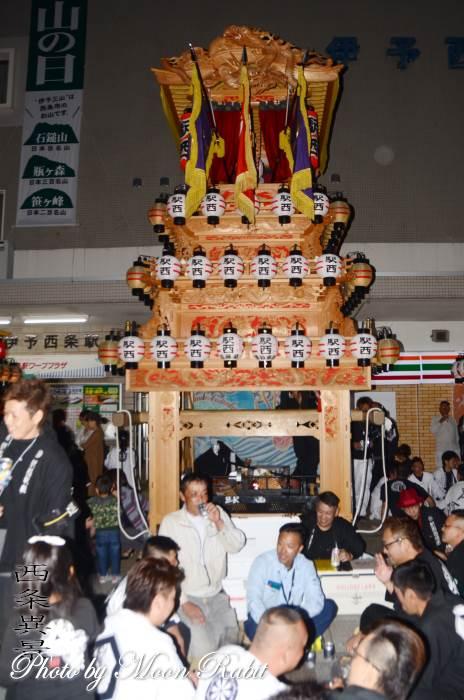 西条駅前前夜祭 駅西屋台(だんじり)