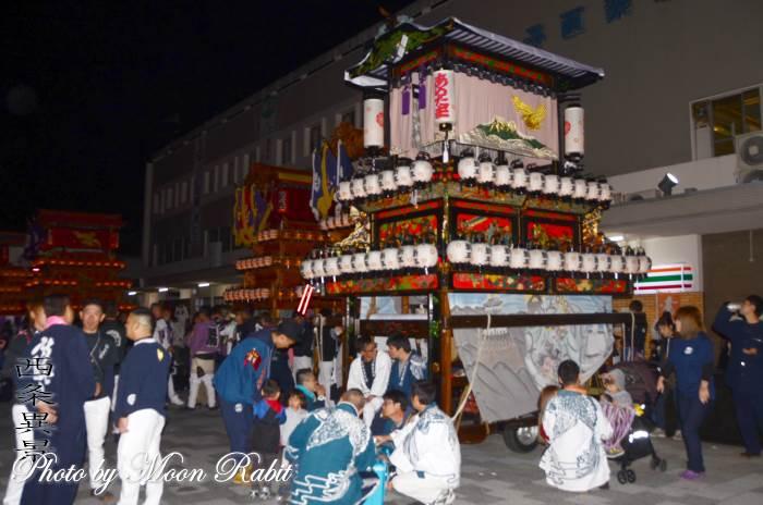 西条駅前前夜祭 新玉通屋台(だんじり)