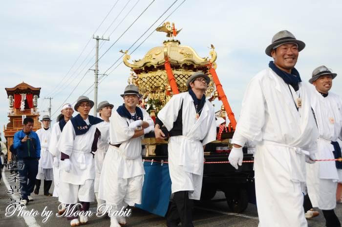 石岡神社神輿 渡御行列