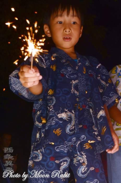 おいべっさんの夏祭り 花火