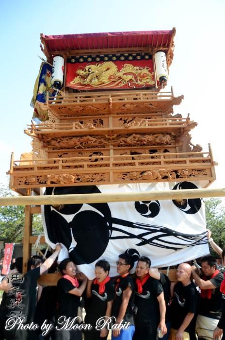 下町屋台(だんじり) 土居だんじり25周年記念運行