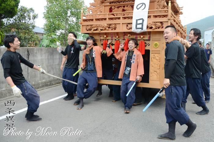 福武荘敬老慰問運行 地蔵原だんじり(屋台)