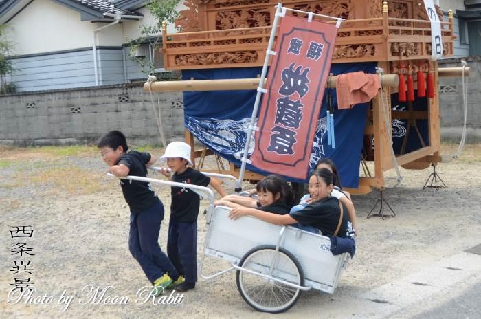 地蔵原だんじり(屋台) 台車・リヤカー