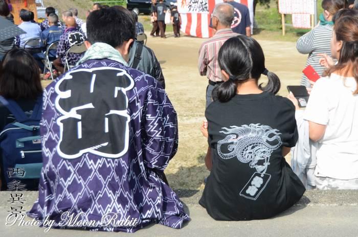 新調北山屋台(だんじり) 祭り装束