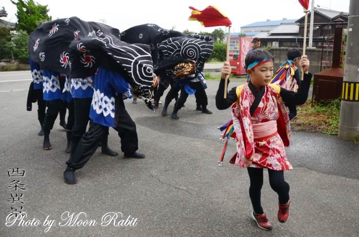綾延神社獅子舞い 丹原祭り