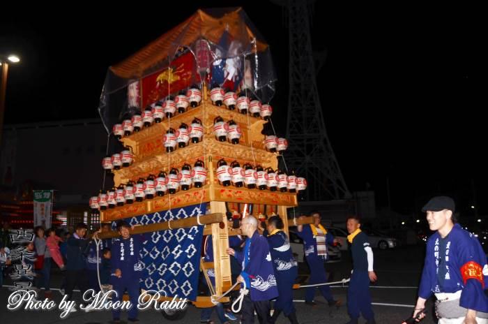 宵祭り 北之町中組屋台(だんじり)
