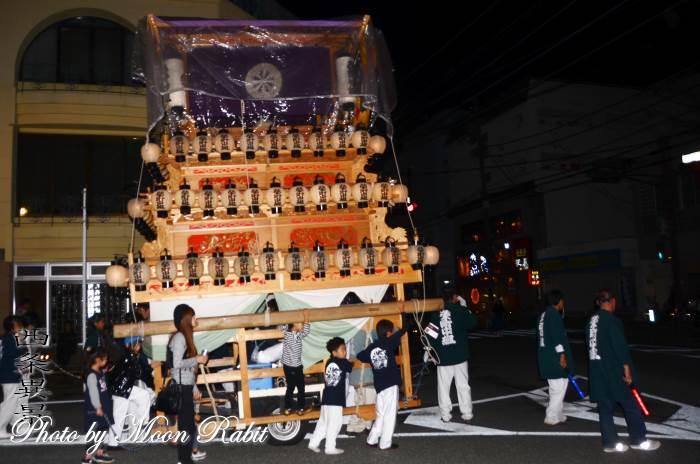 宵祭り 栄町中組屋台(だんじり)