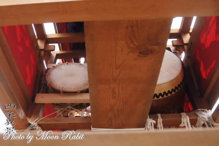 川原谷屋台(だんじり) 祭り太鼓