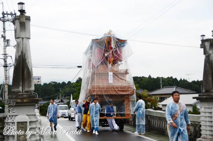 小松橋 西町東組屋台(だんじり) 運行