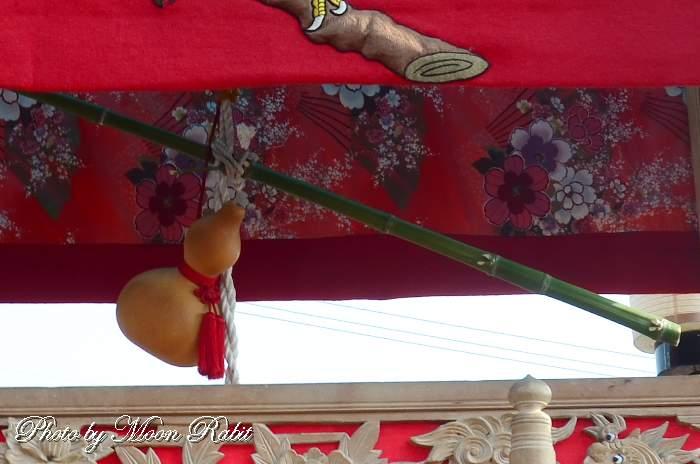 睦会だんじり(屋台) 造り物 鶴岡八幡神社祭礼