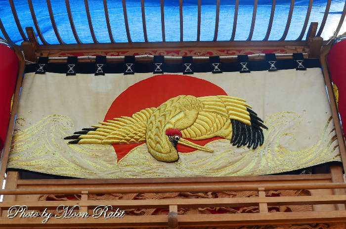 明神木屋台(だんじり) 水引幕