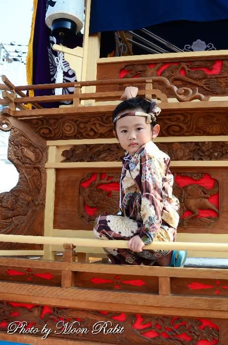 今在家だんじり(屋台) 三保神社祭礼