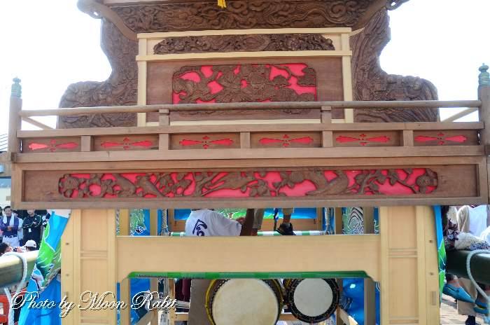 三保神社祭礼 今在家屋台(だんじり) 乳隠し