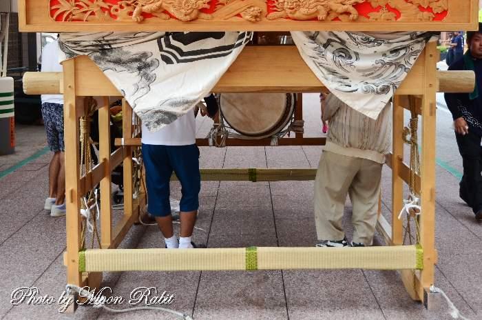 加茂町屋台(だんじり) 台輪・土台幕