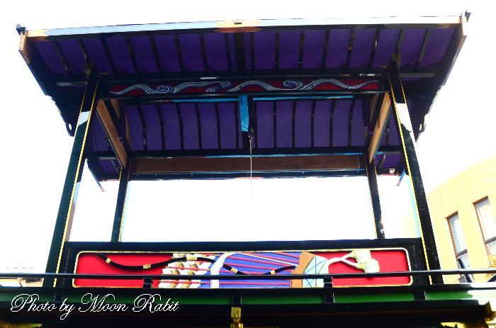 四本柱 松之巷だんじり(屋台) 西条祭り 伊曽乃神社祭礼 愛媛県西条市
