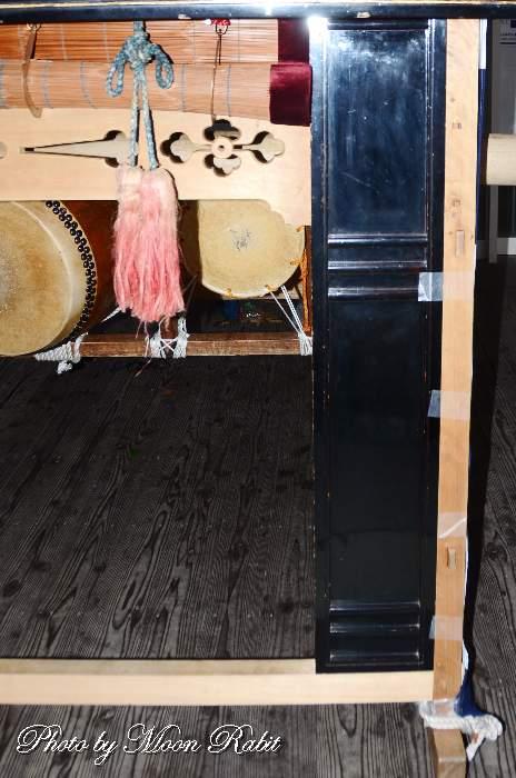 紺屋町屋台(だんじり) 御簾・袖障子