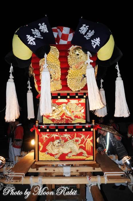 願連寺子供太鼓台 飾り幕