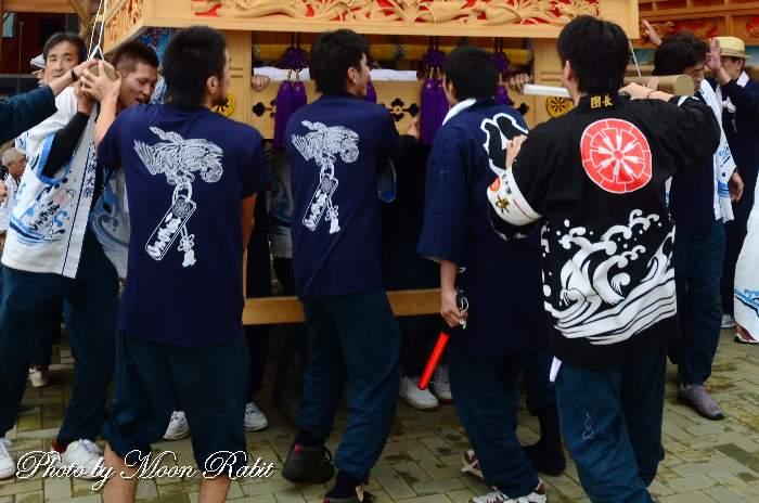 八丁屋台(だんじり) 祭り装束
