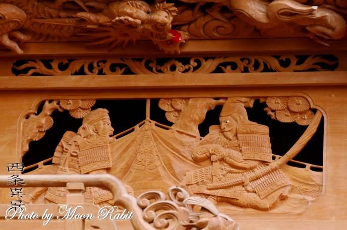 胴板彫刻・手摺 下町屋台(だんじり)