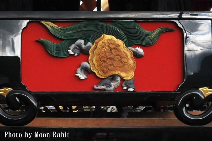 胴板彫刻・手摺 寺之下屋台(だんじり)