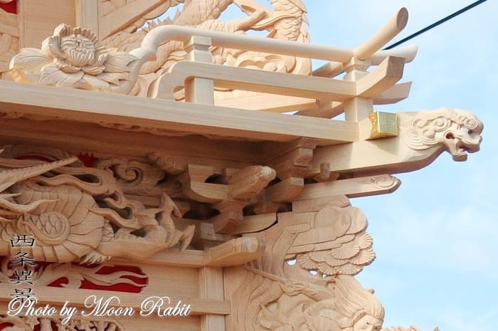 北川屋台(だんじり) 斗組・斗栱間・天井板