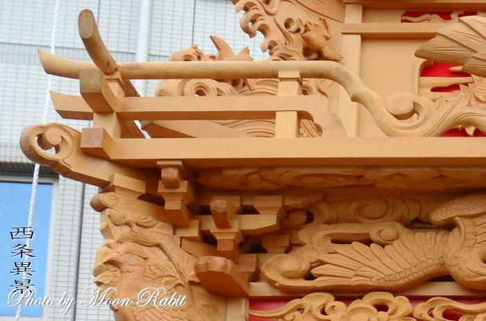 中常盤屋台(だんじり) 枡組・斗栱間・天井板