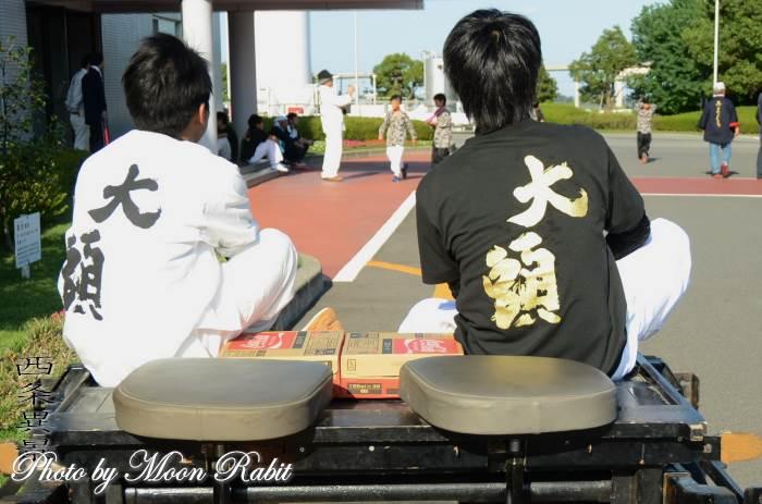 東大頭屋台(だんじり) 祭り装束 小松祭り