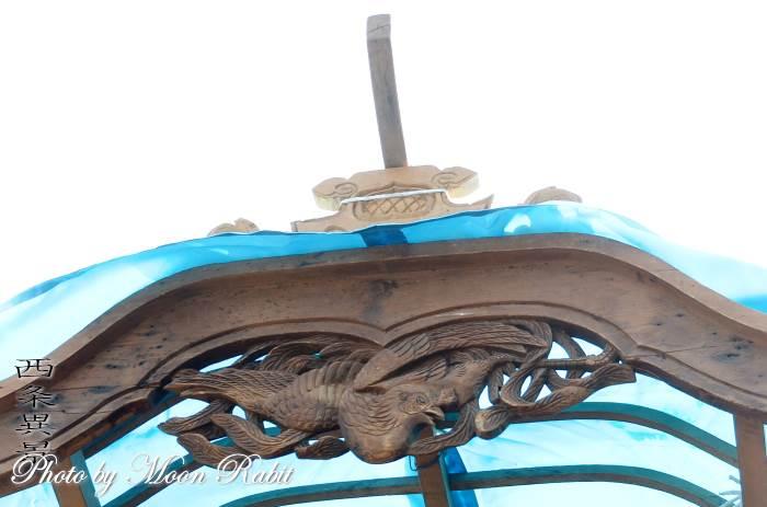 先代西町東組屋台(だんじり) 破風