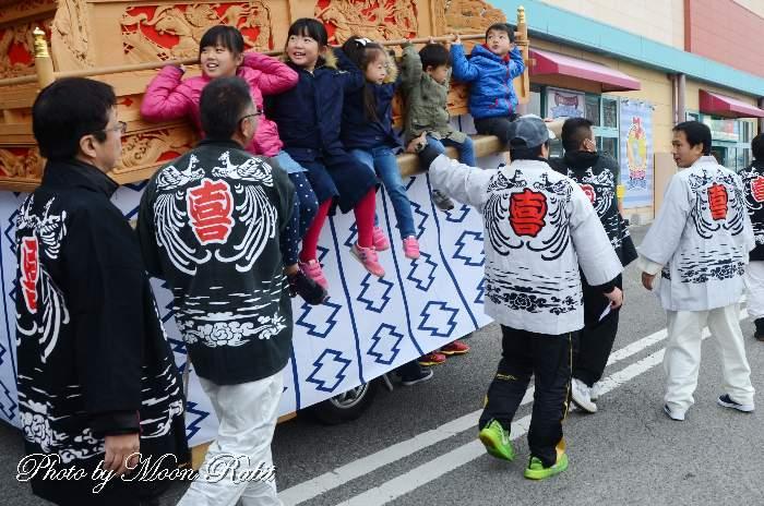 喜多町だんじり(屋台) 祭り装束 西条祭り