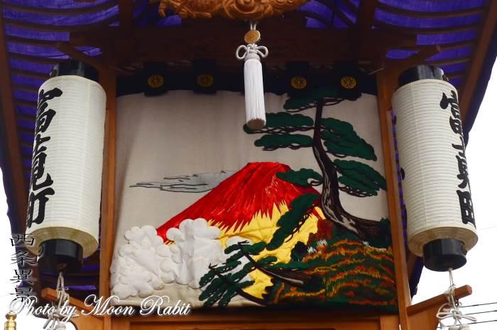 富士見町だんじり(屋台) 水引幕