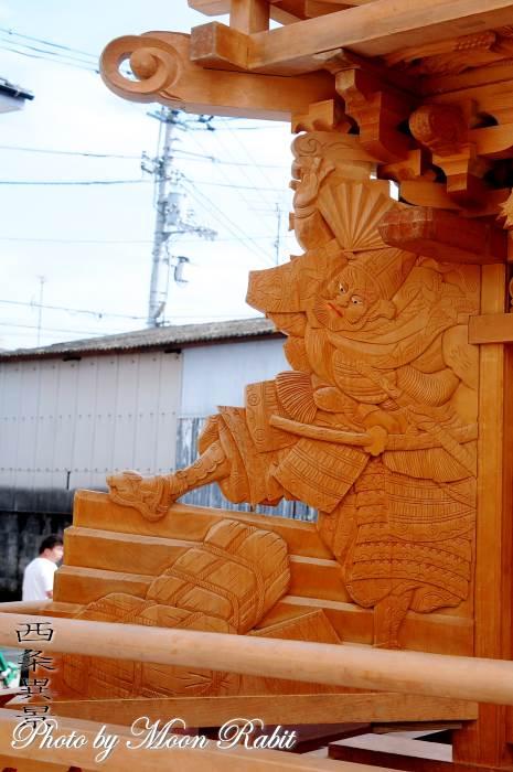 隅障子 上喜多川だんじり(屋台)