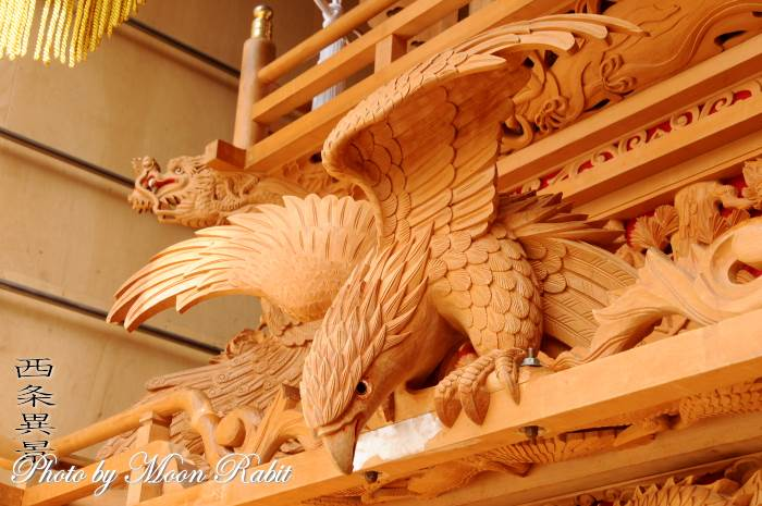 置き彫り 上喜多川だんじり(屋台)