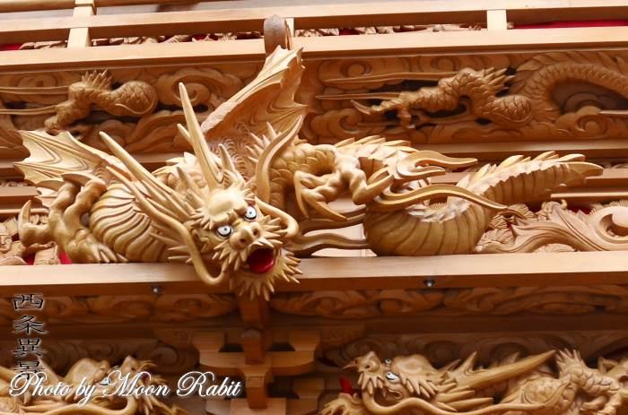 置き彫り 楠だんじり(屋台)
