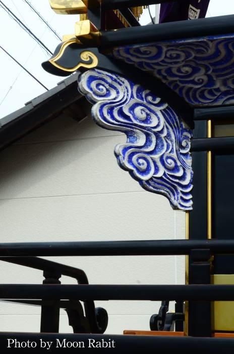 隅障子 古屋敷だんじり(屋台)