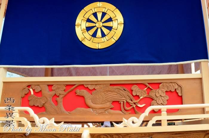 喜多川中だんじり(屋台) 胴板・手摺