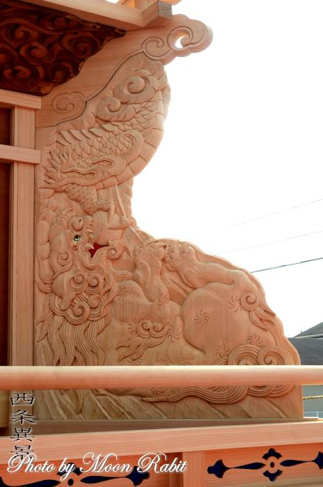 隅障子 喜多川中だんじり(屋台)