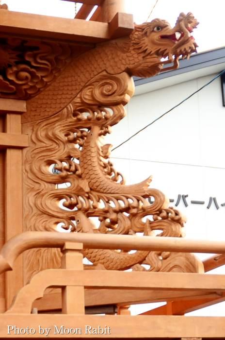 隅障子 駅西だんじり(屋台)