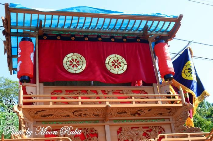 栄町上組屋台(だんじり) 水引幕