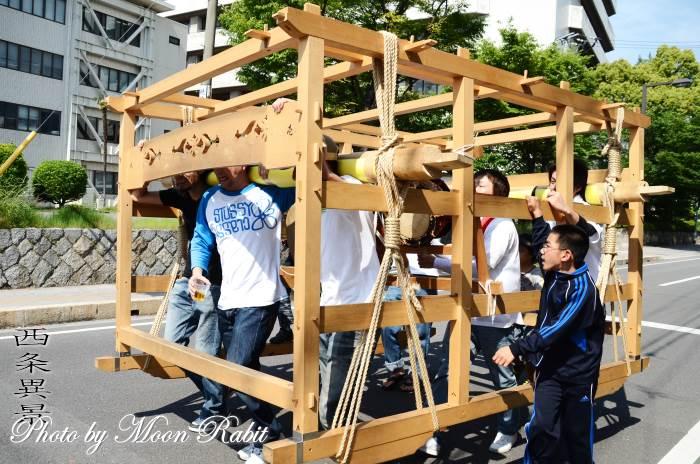 吉原三本松屋台(だんじり) 台輪・土台幕