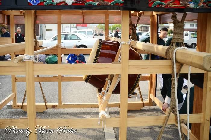 横黒屋台(個人所有) 祭り太鼓