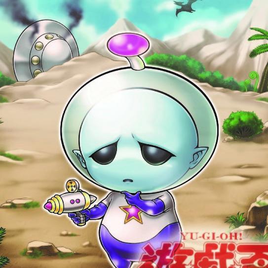 【遊戯王】天使ストラクに関係ない謎の宇宙人