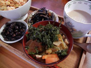 blog Brunch, Macaroni Sald, Hijiki, Kuromame, Miso Soup_DSCN3060-9.29.16.jpg